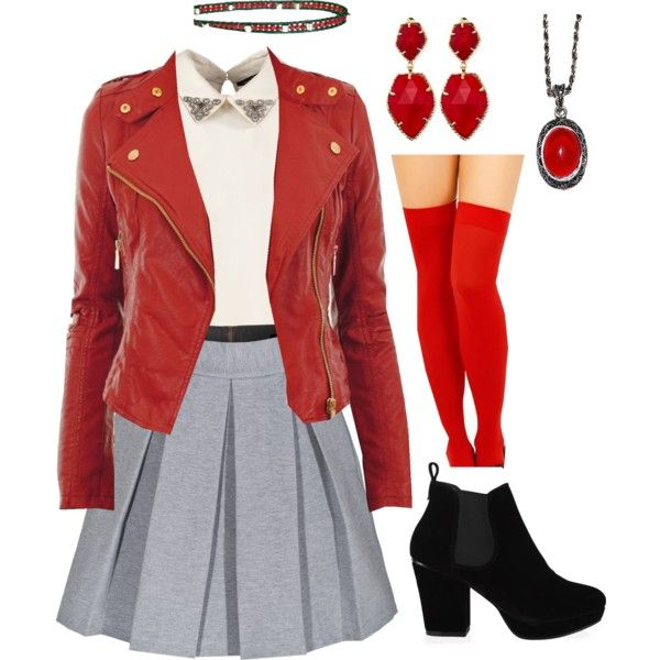 Modern Heather Chandler- Inspired outfit