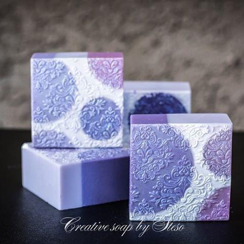 Cold process lavender soap, by steso