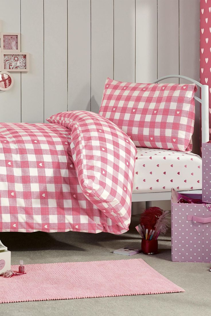 Buy Pink Gingham Bed In A Bag from the Next UK online shop