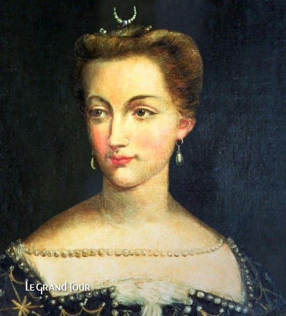 the infamous Diane de Poitiers, mistress of Henri II