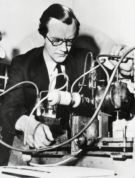 Maurice Hugh Frederick Wilkins CBE FRS (1916 – 2004) was a  physicist and molecular biologist, and Nobel Laureate whose research contributed to the scientific understanding of phosphorescence, isotope separation, optical microscopy and X-ray diffraction, and to the development of radar. He is best known for his work at King's College London on the structure of DNA. In recognition of this work, he, Francis Crick and James Watson were awarded the 1962 Nobel Prize for Physiology or Medicine...