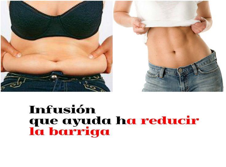 Infusión para reducir la barriga, ¡no te lo pierdas!