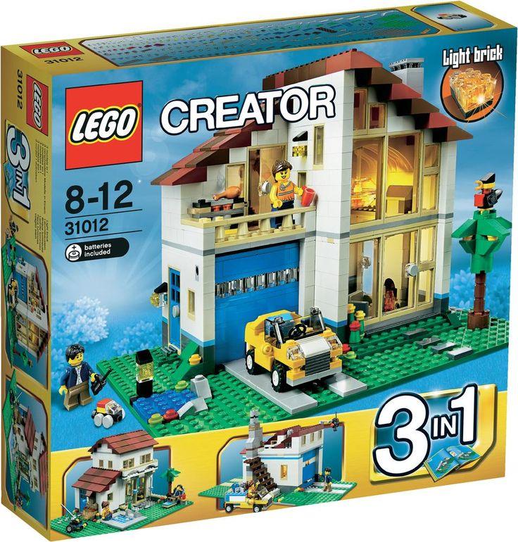 les 25 meilleures id es de la cat gorie lego creator maison sur pinterest maison du cr ateur. Black Bedroom Furniture Sets. Home Design Ideas