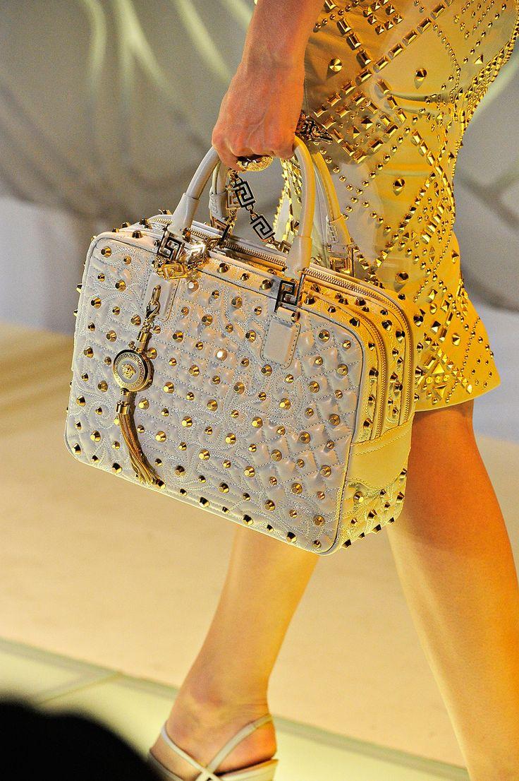 Versace Studded Handbag
