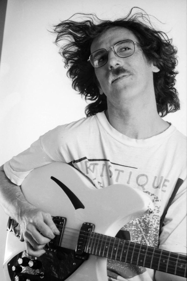 Argentine rockstar Charly García. Buenos Aires. 1990.