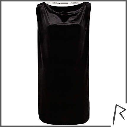 #RihannaforRiverIsland Black Rihanna draped velvet t-shirt dress. #RIHpintowin click here for more details >  http://www.pinterest.com/pin/115334440431063974/