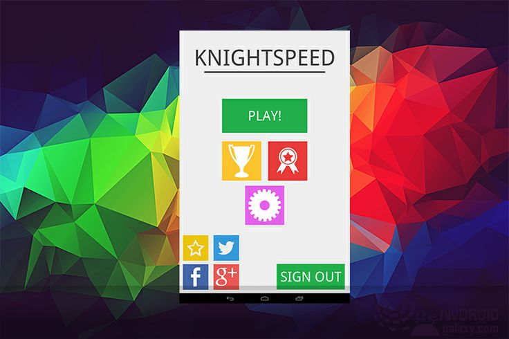KnightSpeed for android
