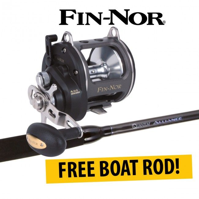 Fin-Nor Biscayne Star Drag Fishing Reels with Free Rod available at best prices in Australia at Dinga Fishing Tackle Store!