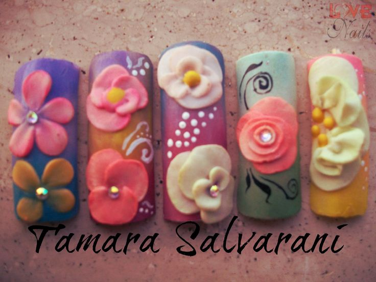 www.rdcosmetic.com Tamara Salvarani - nail artist  #nails #beauty #nailart