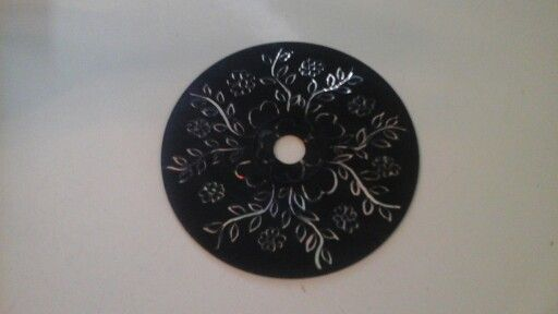 Made from an old cd