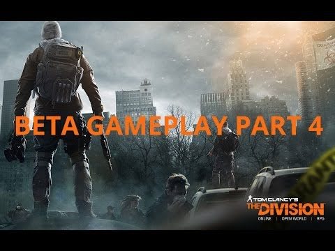 Tom Clancy's The Division Beta Gameplay PC 4K - Part 4 - The Dark Zone - YouTube