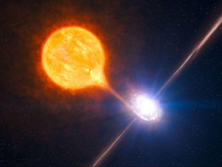 Black Hole Blows Big Bubble | ESO