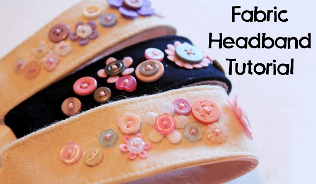 fabric headband tutorial by heidi and finn.  Love their patterns too.