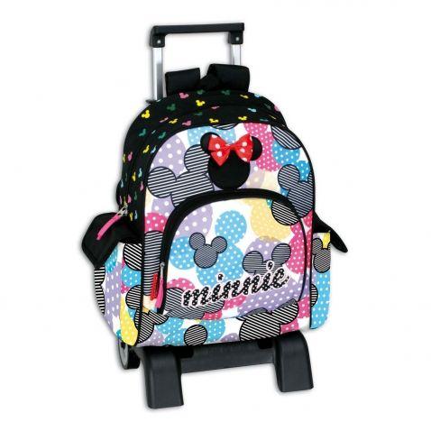 Minnie Mouse - Školní batoh na kolečkách