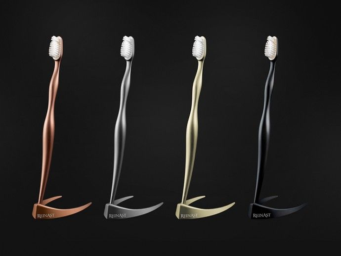 The Worldu0027s Most Expensive Toothbrush Is Made From Titanium And Costs $4,375