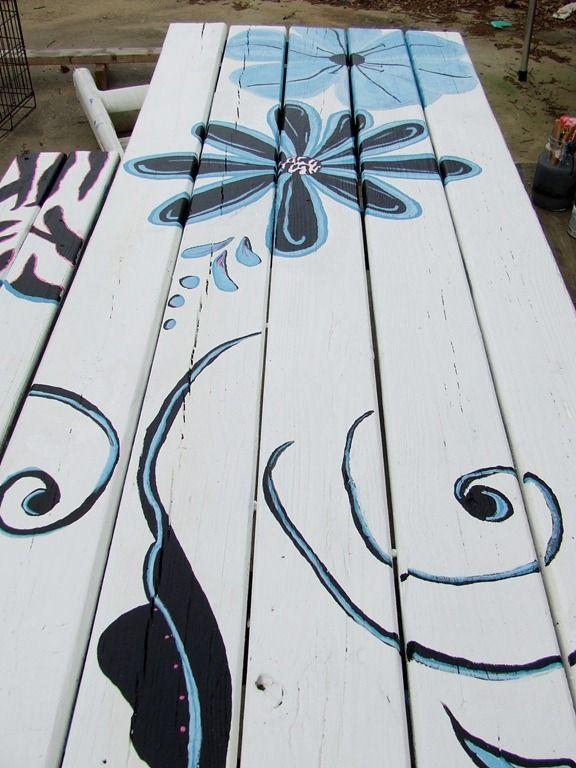 I think I'll paint my picnic table