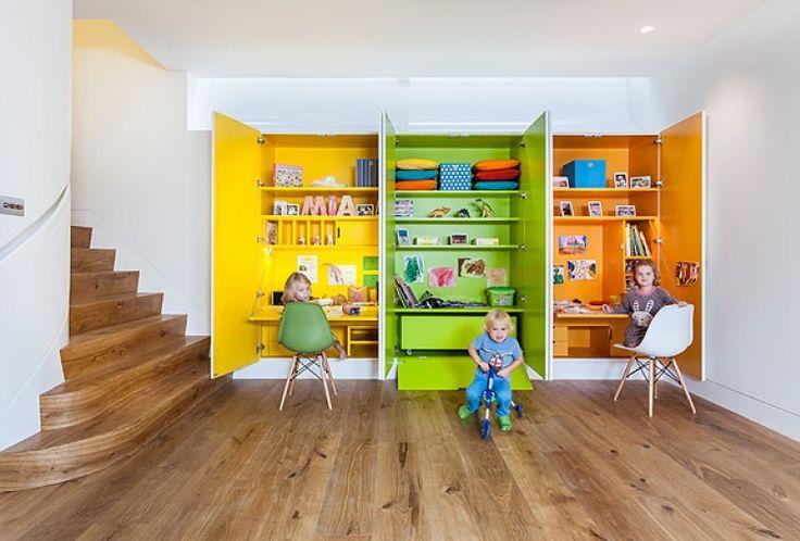 منزل فخم على شكل مكعب: رفاهية وعصرية في قلب لندن