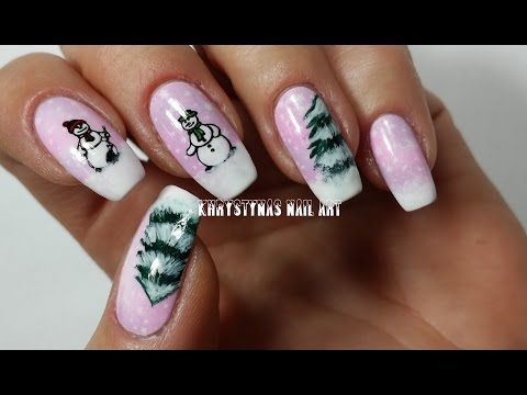 183 best nails nails nails khrystynas nail art videos images nail art for christmasnew years freehand stamping youtube prinsesfo Choice Image