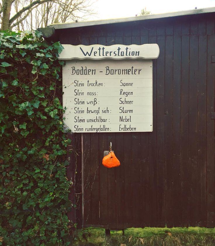 Bodden-Barometer  #ostsee #wetter #schlau