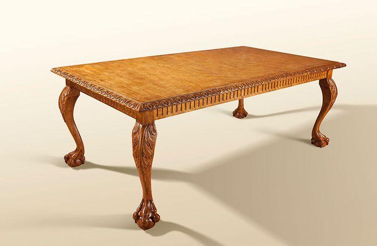 Antique Cedar Aguila Table H 32 in. x W 84 in. x D 47 in.