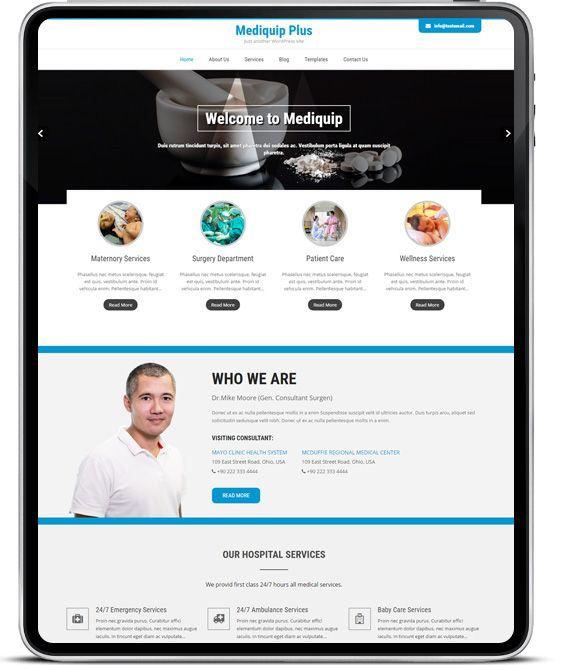 Buy Medical WordPress Theme https://goo.gl/Lrtlu9 Download Free https://goo.gl/2wKuiS #Zylothemes #medicalwebsitetheme #responsive #wptheme