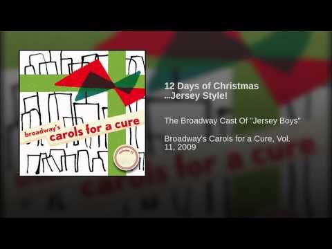 12 Days of Christmas …Jersey Style! - YouTube