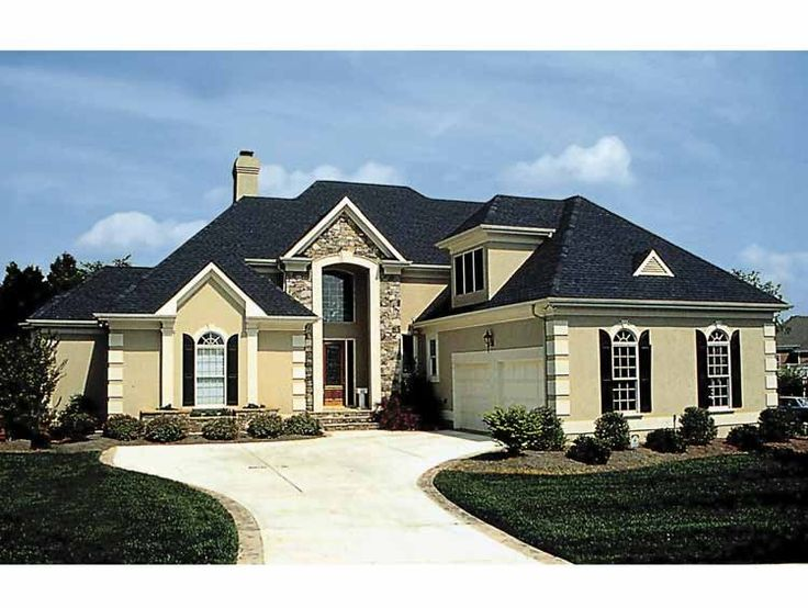 Eplans French Country House Plan - European Dream Home - 3055 Square Feet and 4 Bedrooms from Eplans - House Plan Code HWEPL01444
