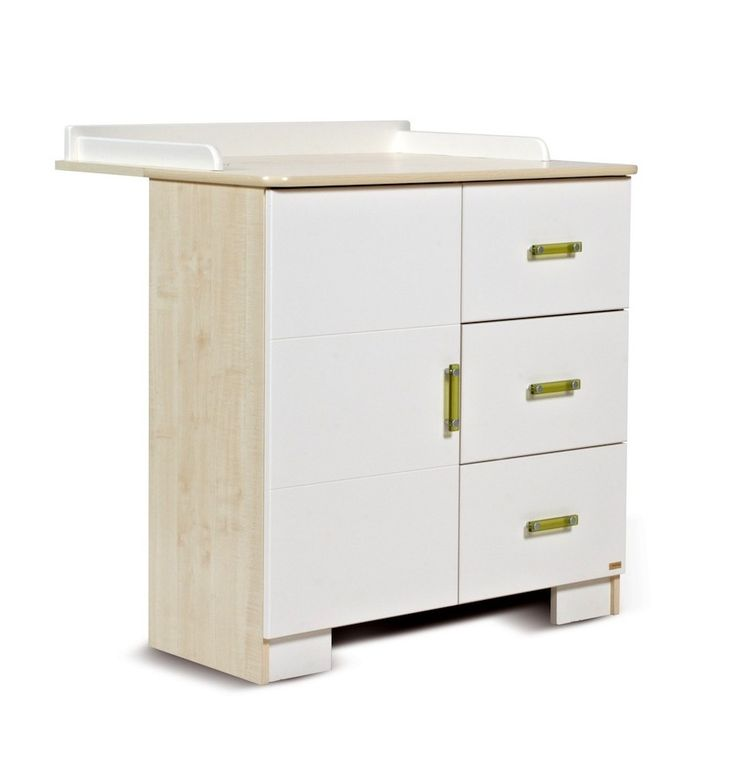 Table à langer avec commode évolutive LILLA- Table à langer avec commode design - Chambre bébé