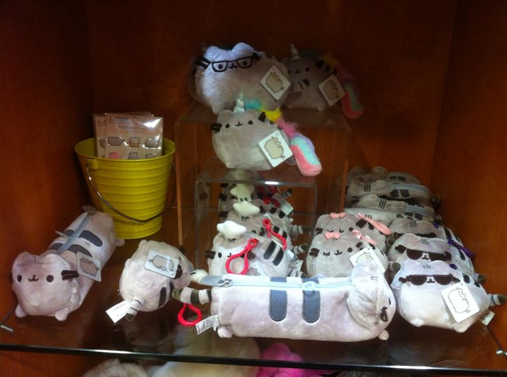 All the Pusheen things~  Some toy store in Kahala mall