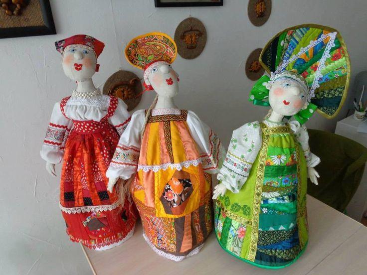 Куклы Елены Оскотской