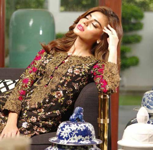 Shariq Mina Hassan Eid Chiffon Chill Shades 2016