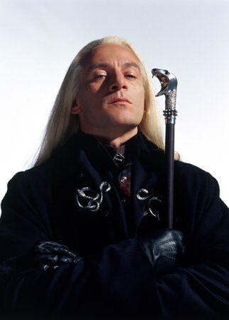 Jason Isaacs as Lucius Malfoy