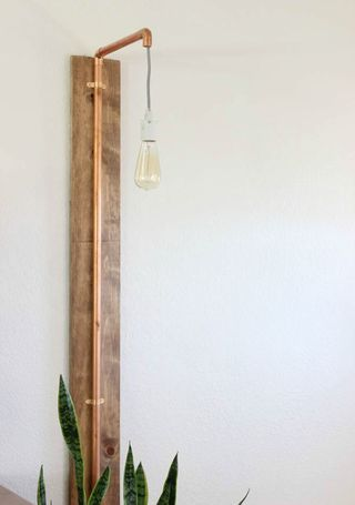 DIY Projects: Copper Wall Sconce   Classy Clutter   Bloglovin'