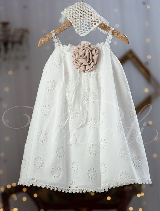 Βαπτιστικό φόρεμα Vinte li - Κωδικός 2536