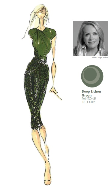 #FCRF13 Designer Inspiration: Pamella Roland by Pamella DeVos http://pantone.com/Fall2013