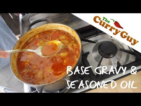 Base Curry Sauce Recipe | British Indian Restaurant Curry Gravy | The Curry Guy