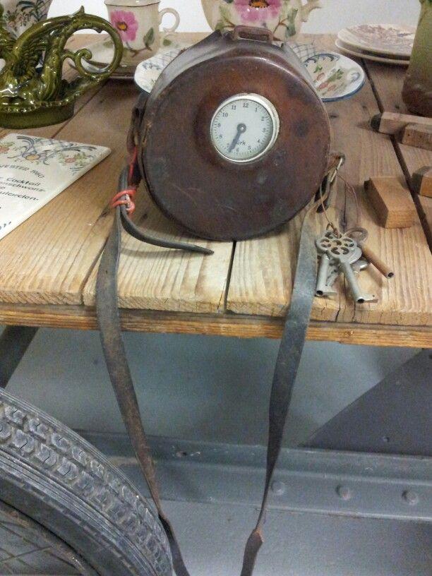 Zeller Keramik museum portable timer uit vervlogen jaren.