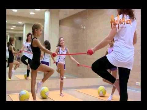 детский фитнес старшая группа - YouTube