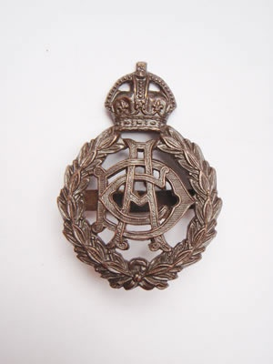 Army Dental Corps Officers Service Dress Cap Badge