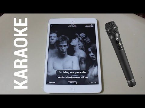 Turn Your iPhone, iPad or Android Device into a Karaoke Machine for Free…