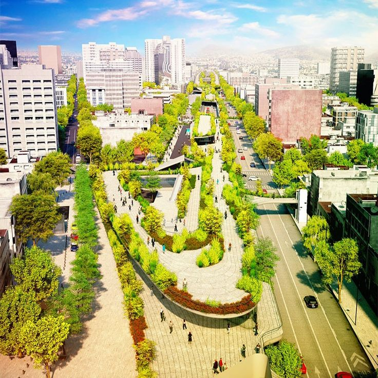 Un nuevo parque lineal para la ciudad de México
