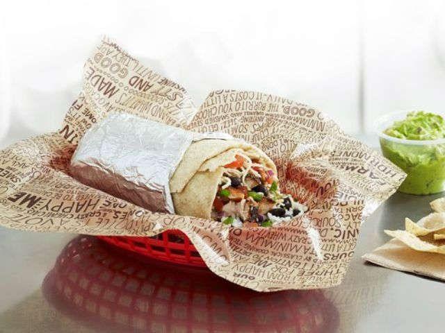 Chipotle's '300calorie burrito' left customer too full