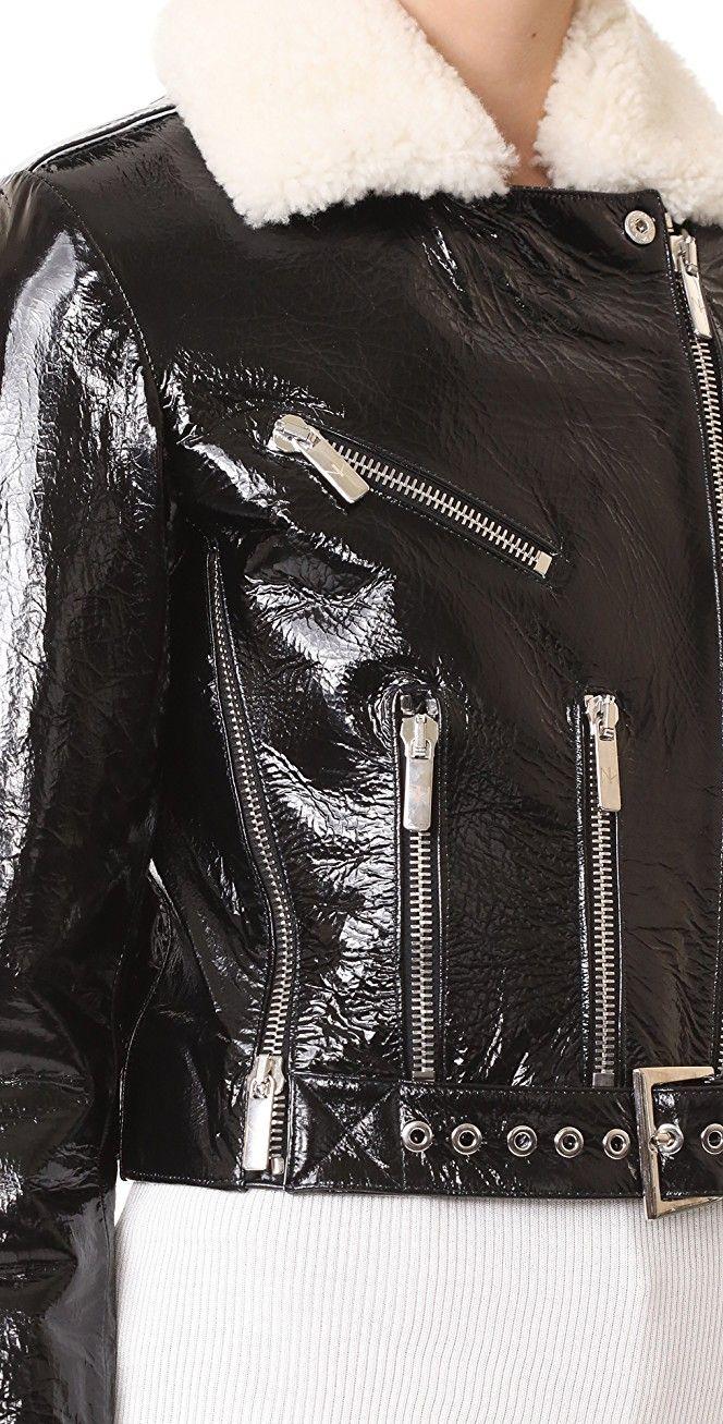 Nour Hammour Mayet Cropped Motorcycle Jacket | SHOPBOP