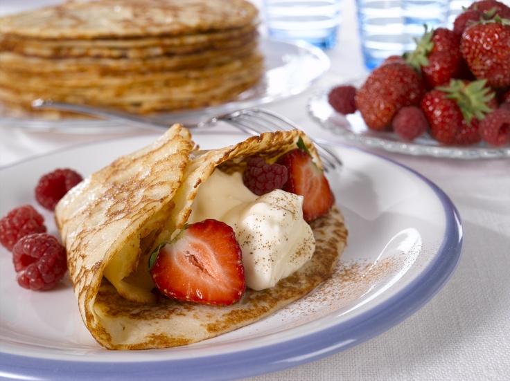 Pancakes. Finnish style!