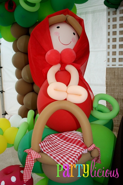 Great Little Red Riding Hood balloons!