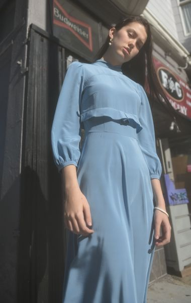 Anaïse | Mayle Nadege Dress, French Blue