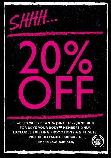 Body Shop Sale... Oh yes please!
