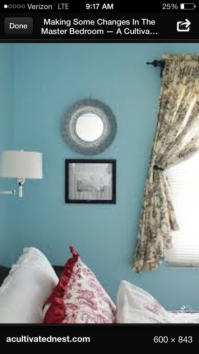 Toile bedroom inspirations   Pinterest   Ideas Toile and Curtains