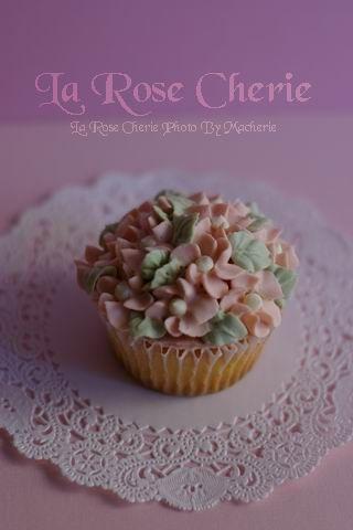 La Rose Cherie(ラ・ローズ・シェリー)-カップケーキデコレーション