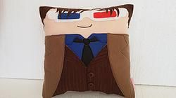 Doctor Who Series Tenth Doctor David Tennant Pillow http://www.rbitencourtusa.com/#!product/prd1/2874145121/handmade-doctor-who-tenth-doctor-pillow